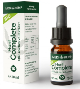 MediHemp Hanf Complete 10% CBD, 10ml