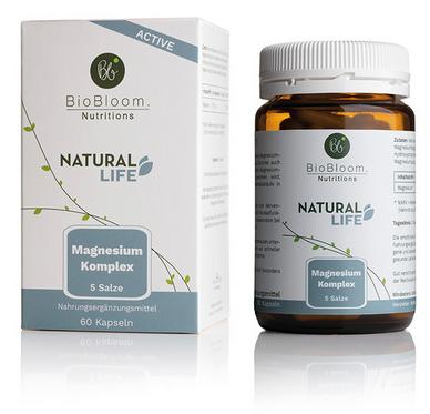 NATURAL ACTIVE Magnesium Komplex (60 Kapseln)