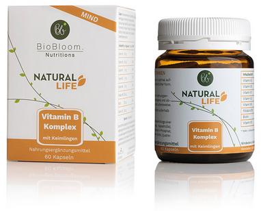 NATURAL MIND Vitamin B Komplex (60 Kapseln)