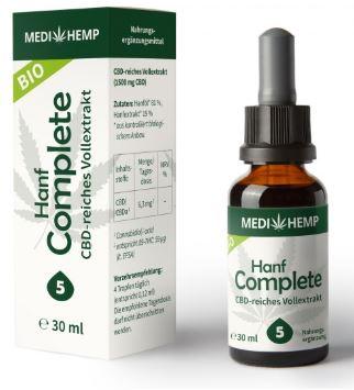 MediHemp Hanf Complete 5% CBD, 30ml