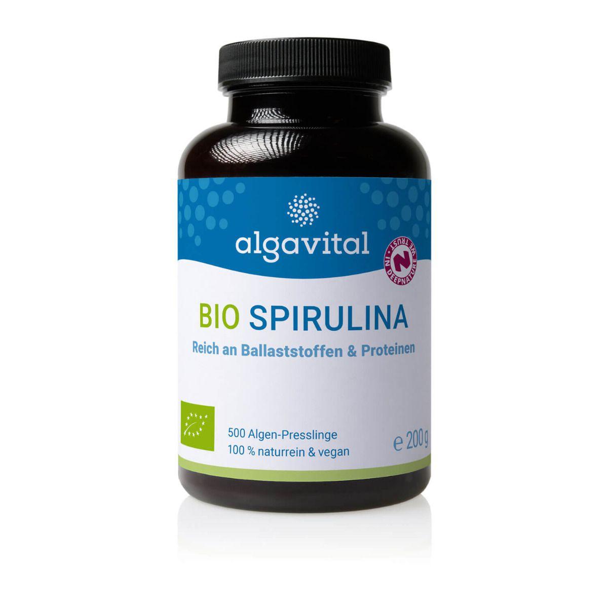 Bio Spirulina 500 Presslinge a 350mg