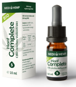 MediHemp Hanf Complete 5% CBD, 10ml