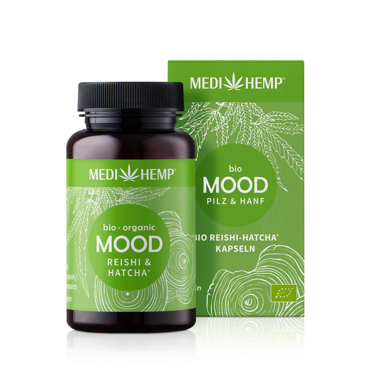 Bio MOOD Reishi-HATCHA®, 120 Kapseln, vegan