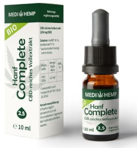 MediHemp Hanf Complete 2,5% CBD,10ml