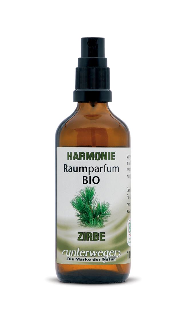 BIO Raumparfum HARMONIE - Zirbe - 100 ML