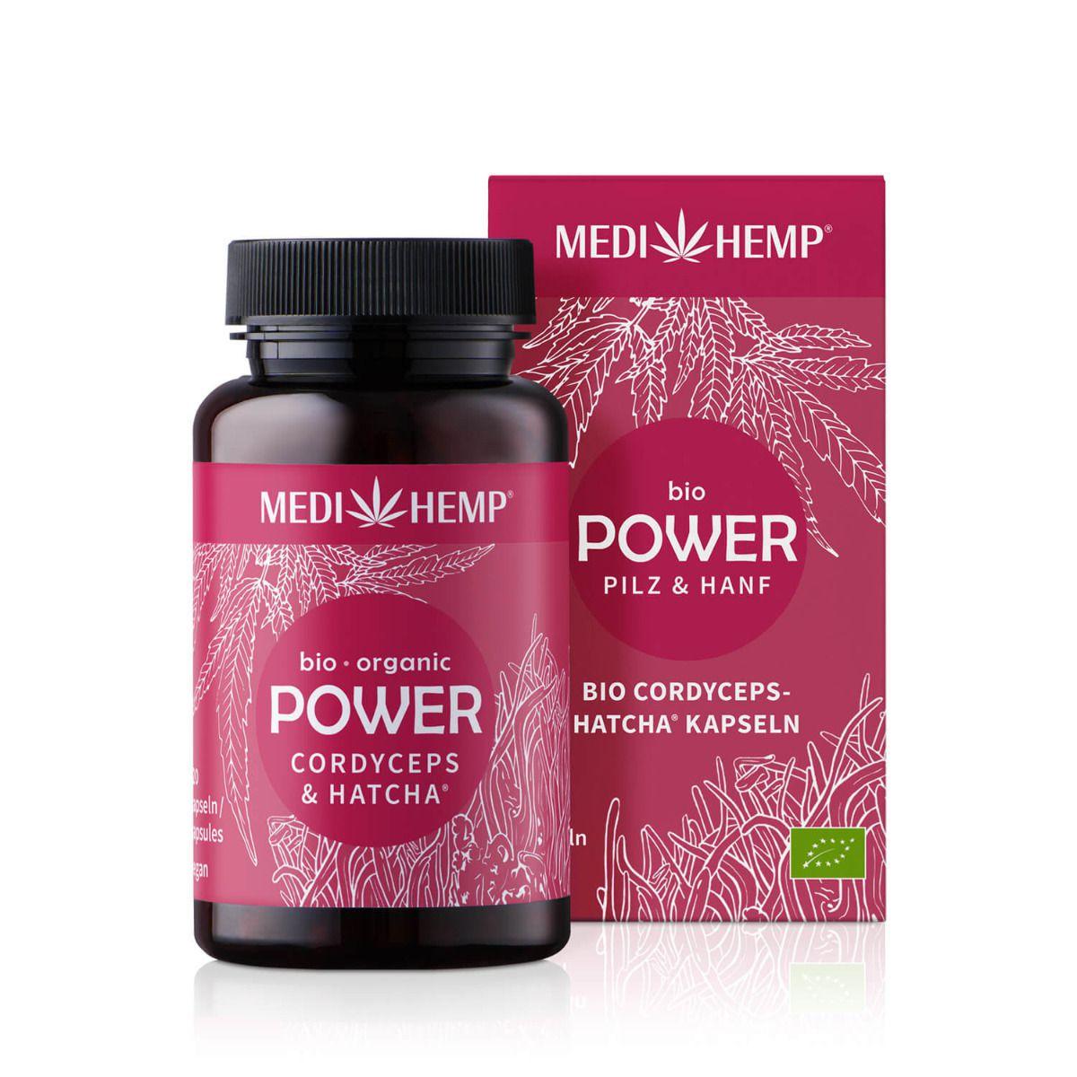 Bio POWER Cordyceps militaris-HATCHA®, 120 Kapseln, vegan