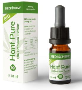 MediHemp Hanf Pure 10% CBD 10ml