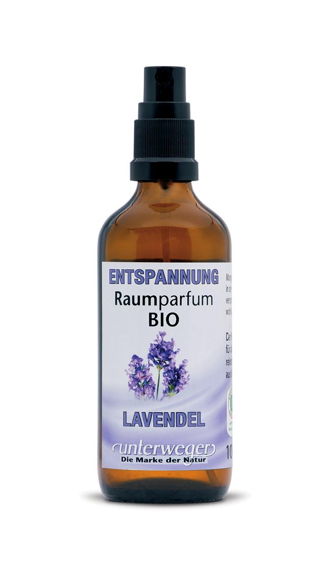 BIO Raumparfum ENTSPANNUNG - Lavendel - 100 ML