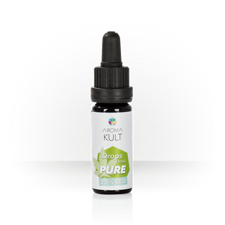 AromaKult Tropfen Pur 2,5% CBD