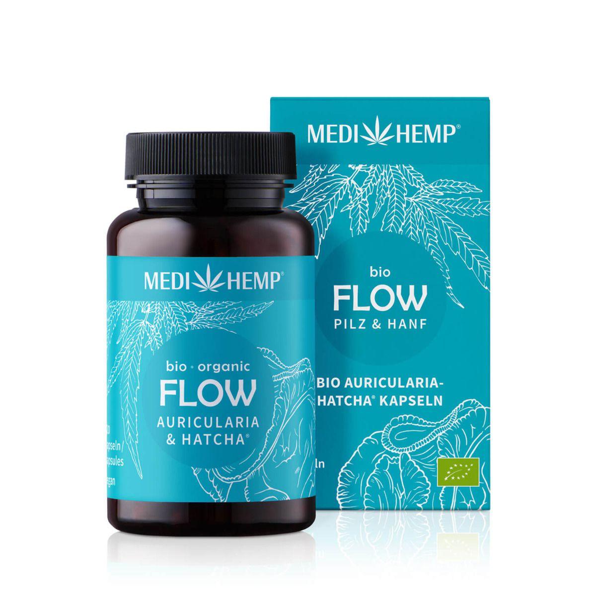 Bio FLOW Auricularia-HATCHA®, 120 Kapseln, vegan