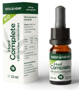 MediHemp Hanf Complete 18% CBD, 10ml